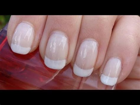How to: French Manicure - YouTube