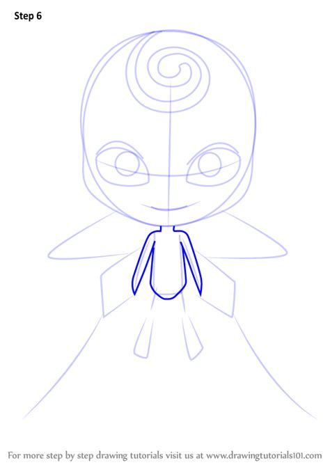 Learn How to Draw Nooroo Kwami from Miraculous Ladybug