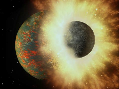 Earth's carbon came from ancient collision with Mercury