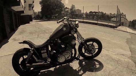Yamaha virago xv 1100 custom - YouTube