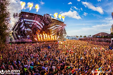 First Glimpse of Ultra Music Festival 2017 Main Stage